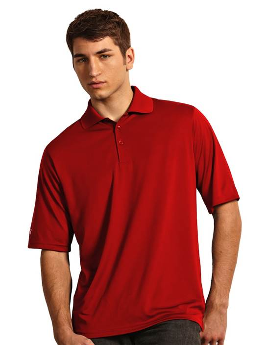 100208 - Exceed Dark Red (Mens Shirts Polo)