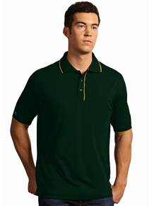 100542 - Elite Dark Pine/Gold (Mens Shirts Polo)