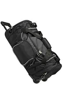100573 - Exec-rolling Duffle Black/Grey (Unisex Luggage Duffle)