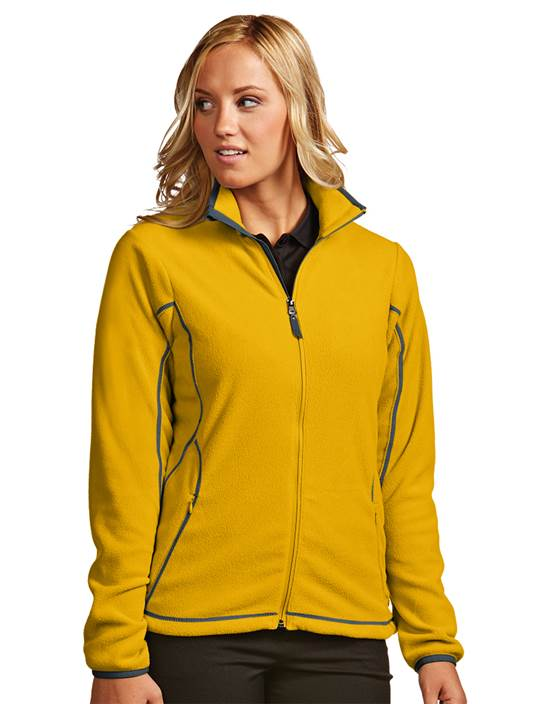 100605 - Women's Ice Jacket Gold/Steel (Womens Outerwear Jacket)