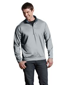 100607 - Leader Pullover Silver/Steel (Mens Outerwear Pullover)