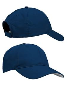 100636 - Pinnacle Hat Navy (Unisex Hats Adjustable)