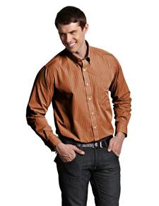 100688-847 - Achieve Terracotta Multi (Mens Shirts DressShirt)