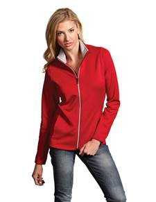 100695 - Leader Jacket Dark Red/Silver (Womens Outerwear Jacket)