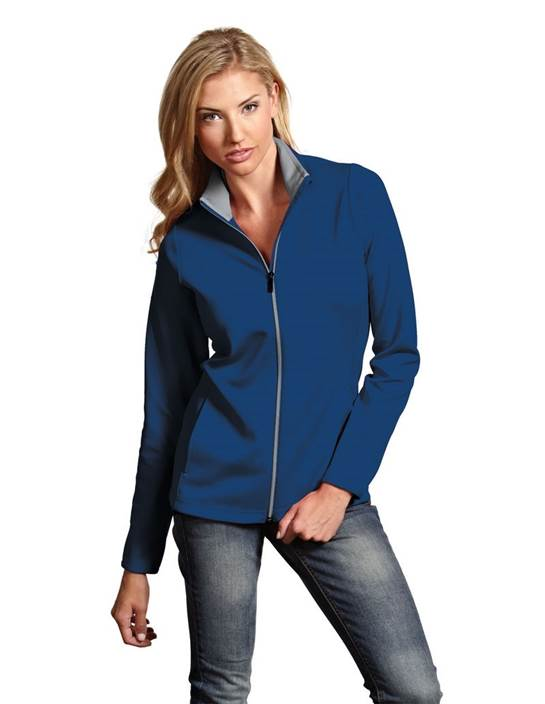 100695-288 - Women's Leader Jacket Dark Royal/Silver (Womens Outerwear Jacket)