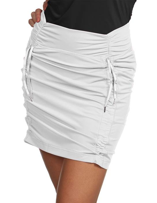100780-001 - Cinch Skort - SALE White (Womens Bottoms Skort)