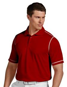 100784 - Icon Dark Red/White (Mens Shirts Polo)