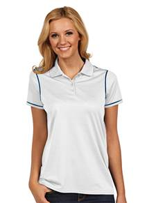 100786 - Women's Icon White/Navy (Womens Shirts Polo)