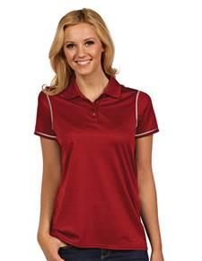 100786 - Women's Icon Dark Red/White (Womens Shirts Polo)