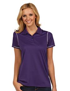 100786 - Women's Icon Dark Purple/White (Womens Shirts Polo)