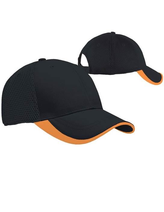 100819 - Fairway Hat Black/Atomic (Unisex Hats Adjustable)