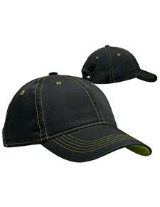 100822 - Par Hat Black/Glow (Unisex Hats Adjustable)