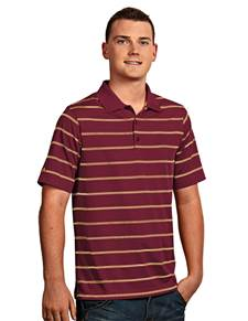 100874-817 - Deluxe Cabernet/FSU Gold/White (Mens Shirts Polo)
