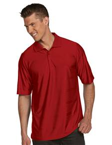 100943 - Illusion Dark Red (Mens Shirts Polo)