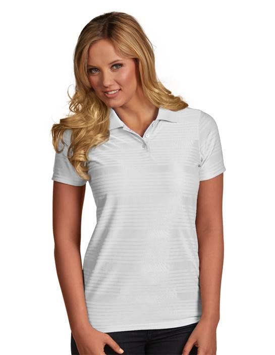 100944 - Women's Illusion White (Womens Shirts Polo)