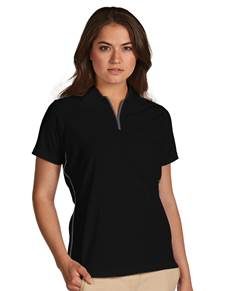 101029-079 - W's Verge Black/Wolf (Womens Shirts Polo)