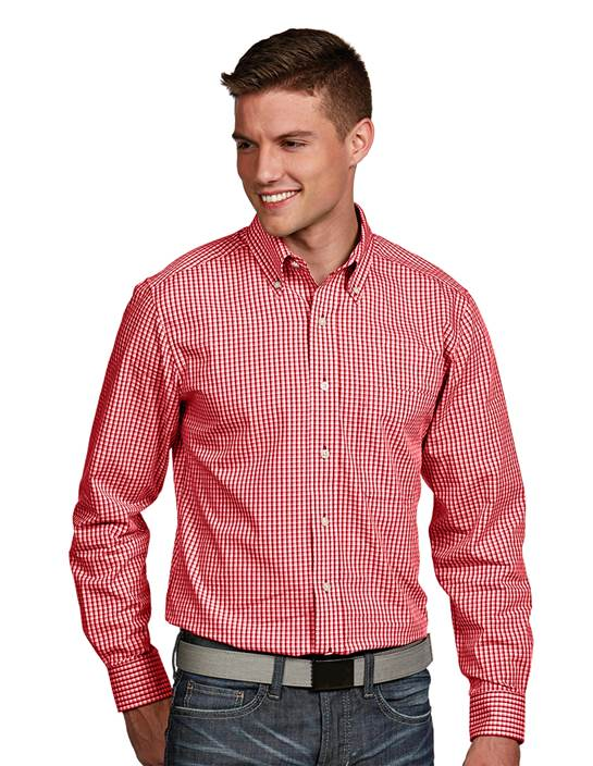 101062 - Associate Dark Red Multi (Mens Shirts DressShirt)