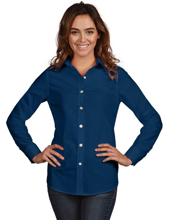101066 - Women's Dynasty Navy (Womens Shirts DressShirt)