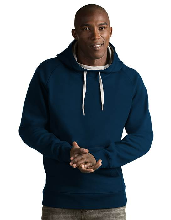 101182 - Victory Hood Navy (Mens Outerwear Pullover)