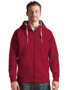 101183 - Victory Full Zip Hood Cardinal Red (Mens Outerwear Jacket)