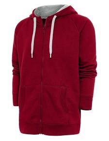 101183 - Victory Full Zip Hood Cardinal Red (Mens Outerwear Jacket)