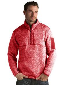 101184 - Fortune Dark Red Heather (Mens Outerwear Pullover)