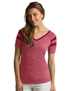101187-729 - W's Assist Cardinal Red Heather (Womens Shirts Tee)