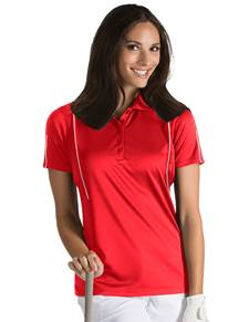 101224 - Women's Contact Dark Ruse/White (Womens Shirts Polo)