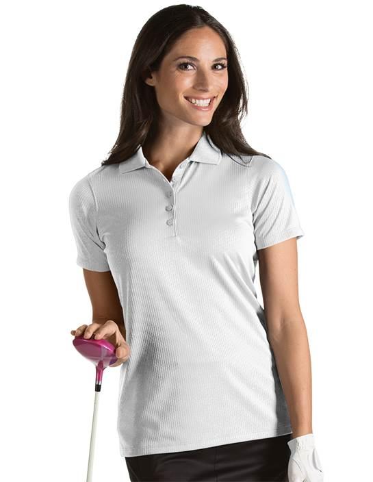 101226 - Women's Status White (Womens Shirts Polo)