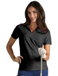 101230 - W Accord Black (Womens Shirts Polo)