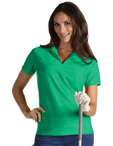 101230 - W Accord Dark Mint (Womens Shirts Polo)