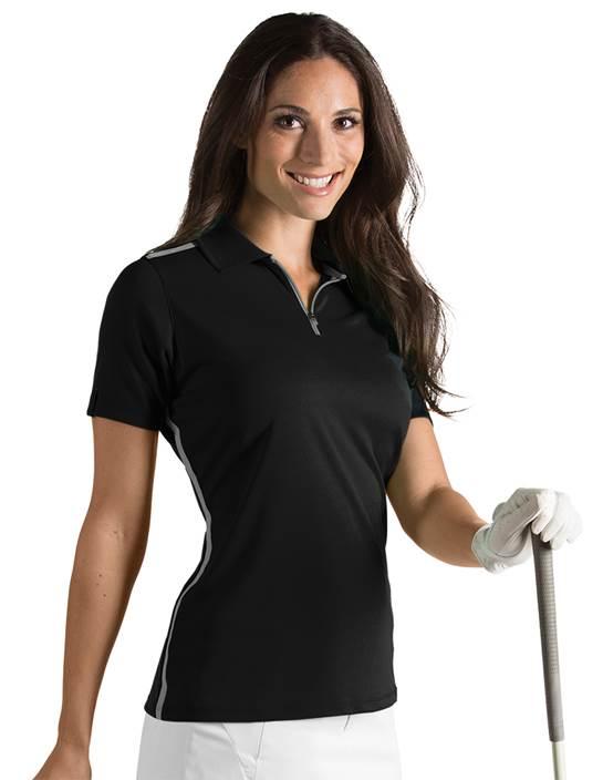 101232 - Women's Balance Black/Grey (Womens Shirts Polo)