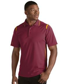 101298-308 - Merit - SALE Cabernet/F S U Gold (Mens Shirts Polo)