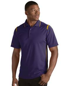101298 - Merit Dark Purple/Gold (Mens Shirts Polo)