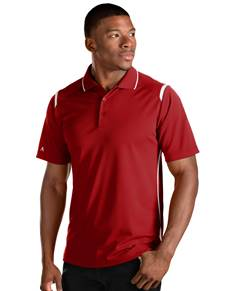 101298 - Merit Dark Red/White (Mens Shirts Polo)