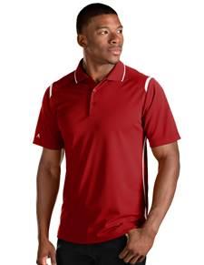 101298 - Merit Dark Red/White (Mens Shirts Polo)