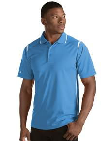 101298 - Merit Columbia Blue/White (Mens Shirts Polo)