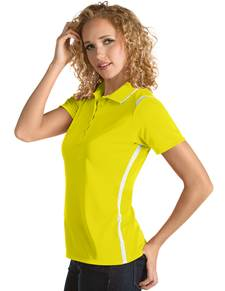 101299-586 - Merit Women's - SALE Yellow/White (Womens Shirts Polo)
