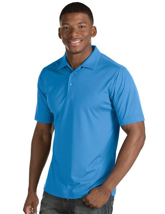 101300 - Inspire Columbia Blue (Mens Shirts Polo)