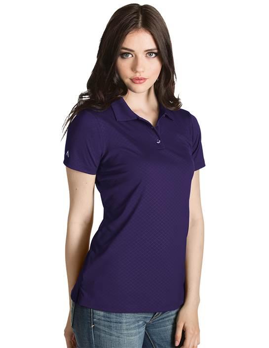 101301 - Women's Inspire Dark Purple (Womens Shirts Polo)