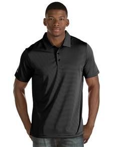 101302 - Quest Black/White (Mens Shirts Polo)