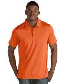 101302-447 - Quest Mango/White (Mens Shirts Polo)