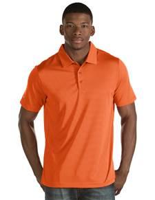 101302-447 - Quest Mango/White (Mens Shirts Polo)