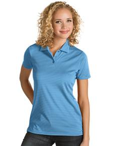 101303 - Women's Quest Columbia Blue/White (Womens Shirts Polo)