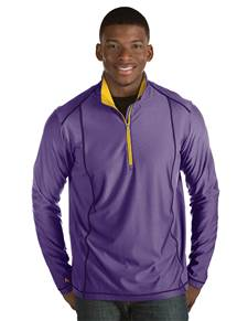 101304 - Tempo Dark Purple Heather/Gold (Mens Outerwear Pullover)
