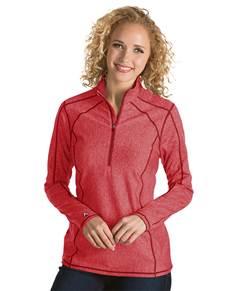 101305 - Women's Tempo Dark Red Heather (Womens Outerwear Pullover)