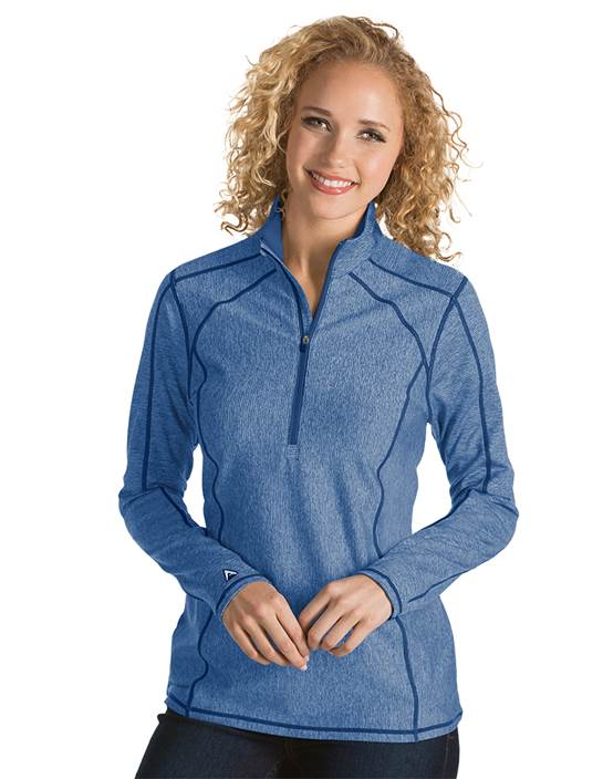 101305 - Women's Tempo Dark Royal Heather (Womens Outerwear Pullover)