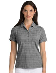 104061 - Women's Digital Black Heather/Black (Womens Shirts Polo)