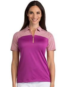 104062-145 - Women's Switch Boysenberry Multi (Womens Shirts Polo)