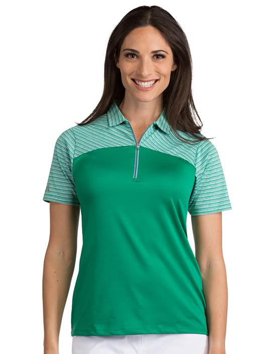 104062-149 - Women's Switch Spearmint Multi (Womens Shirts Polo)